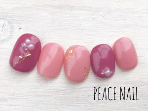 ピンク ネイル